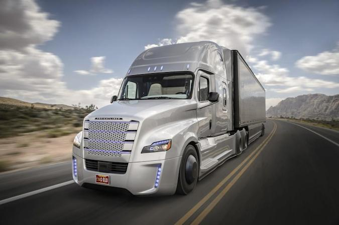 The first self-driving big rig licensed to operate in the US
