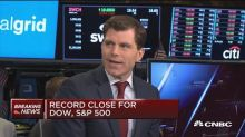 Record close for Dow, S&P
