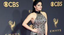 Ariel Winter's sheer Emmys dress had two dangerously high leg slits