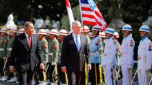 Mattis sees Indonesian forces drink snake blood, roll in glass