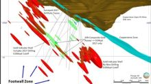 Kerr Mines confirms new mineralized 'Footwall' zone at Copperstone Project