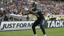 Marcedes Lewis makes history against the Ravens in London