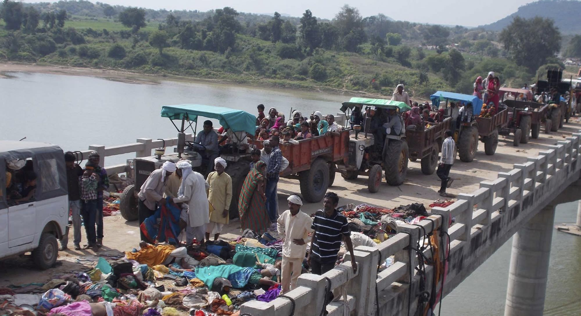 Death Toll In India Temple Stampede Rises To 109