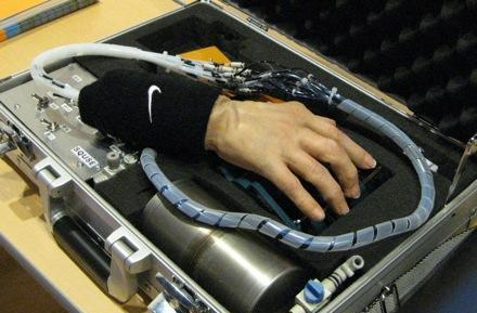 The Nike robotic hand: there is no finish line