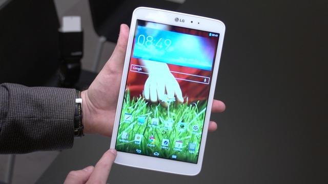 First Look: The LG G Pad 8.3: a Full HD, quad-core, metal tablet