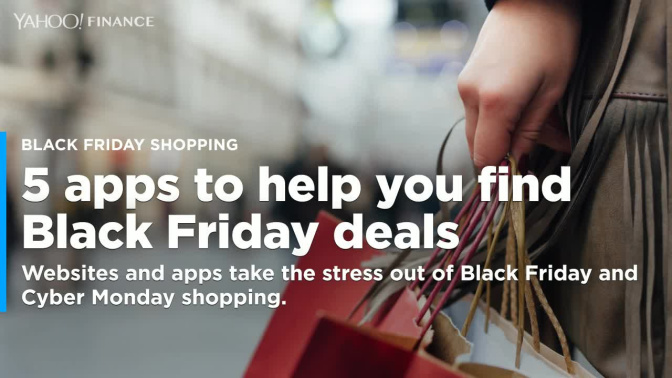 5 apps to help you find the best Black Friday deals