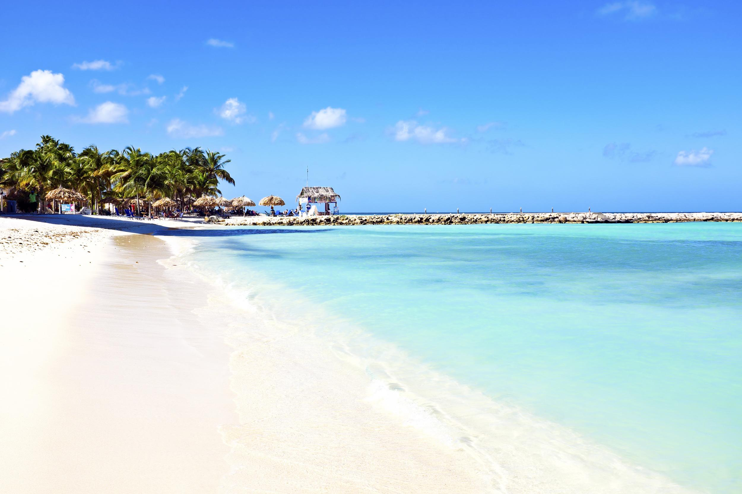 """<a href=""""http://www.thomson.co.uk/flights/destinations/caribbean/aruba-island/aruba/aruba-flights.html"""" target=""""_blank"""">Thomson Airways</a> will fly from Manchester to Aruba from 2 May to 24 October in 2016. The direct summer flight on Mondays will cost from £749 return. The Caribbean island boasts amazing beaches, contrasting landscapes, friendly people, a colourful underwater world and delicious food. Sitting just outside the hurricane belt, Aruba is at the very south of the Caribbean Sea, less than 20 miles from the Venezuela coast."""