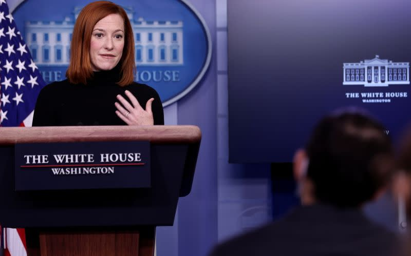 www.yahoo.com: White House supports commission to investigate U.S. Capitol riots - spokeswoman