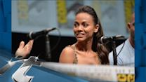 Movies News Pop: Zoe Saldana Goes Green for 'Guardians'