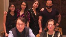 Kareena, Saif, Karishma celebrate Randhir Kapoor's B'Day