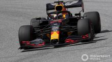 """Verstappen: Red Bull """"a bit too slow"""" to fight Mercedes"""