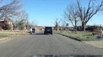 Washington IL: First look at tornado strike zone on ground