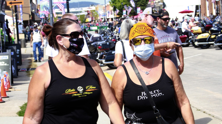 Pandemic fails to stop Sturgis Motorcycle Rally