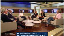 Nach Nahles' Notbremse: Anne Will diskutiert über SPD-Krise