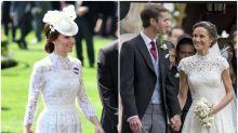 Ascot 2017: ¿Se ha inspirado Kate Middleton en el vestido de novia de Pippa?