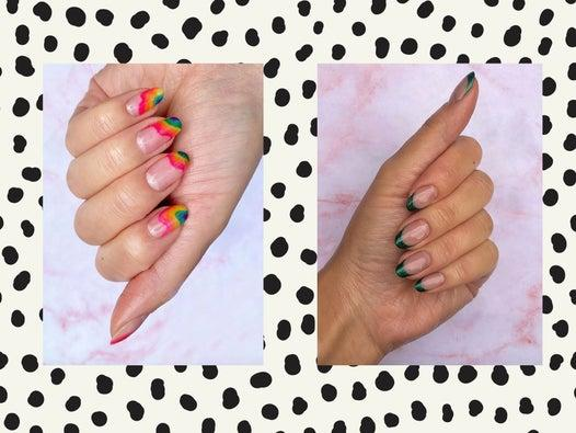 The trending nail art designs you can create at home