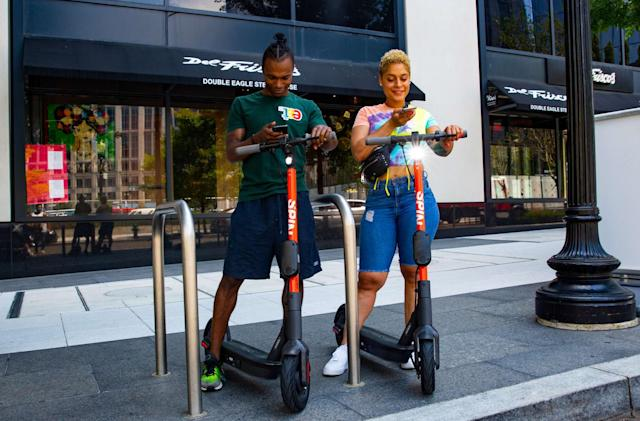 Spin's revamped e-scooters are coming to eight US cities
