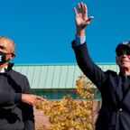 Obama lends a hand as Biden and Trump launch final campaign blitz