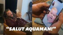 Jason Momoa a fait une belle surprise à ce jeune fan d'Aquaman