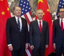 The Latest: China, US trade talks adjourn until next week