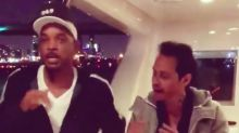 Will Smith Gets Dance Lessons from Marc Anthony in 100th Instagram Post