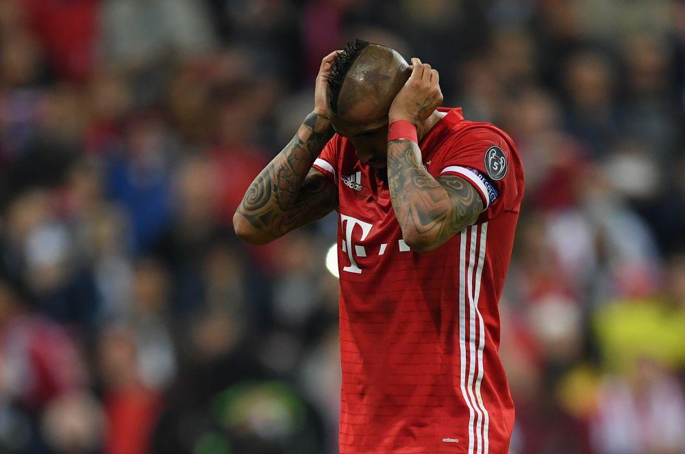 """Bayern Munich, Vidal : """"Nous sommes brisés mais c'est de notre faute"""""""