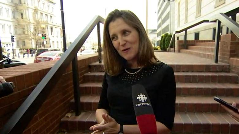 Chrystia Freeland cancels NATO trip to remain in ...