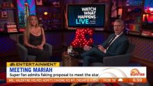 Mariah Carey superfan reveals he faked a marriage proposal to meet her