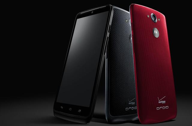 This is Verizon's Droid Turbo: 5.2-inch Quad HD display, up to 48 hours of battery life