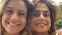 Fernanda Gentil comemora aniversário e vitória do Flamengo