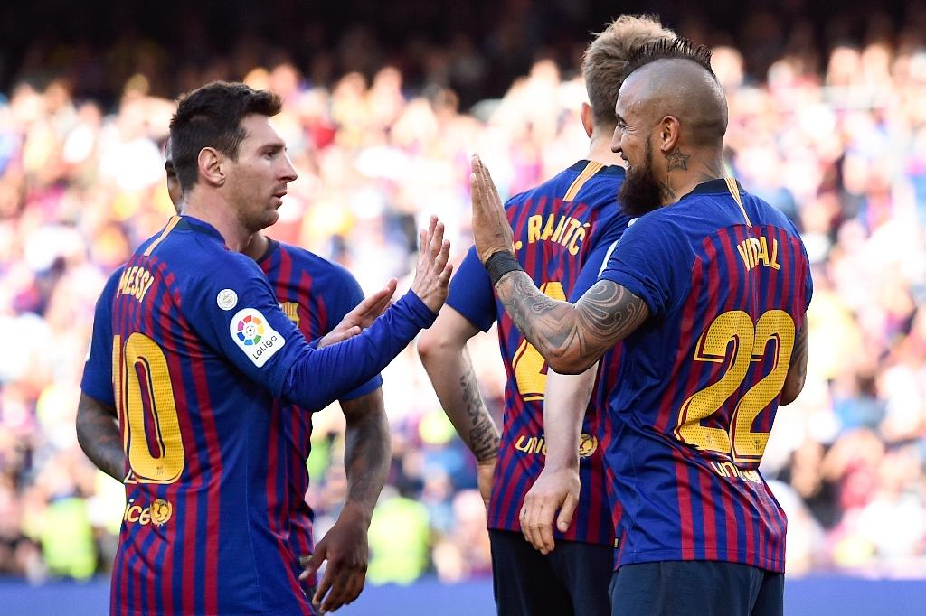 69acd1d6bcd Barcelona bounce back from Champions League nightmare with win over Getafe