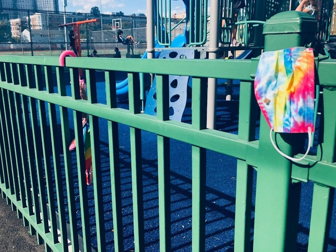A playground in Hoboken.