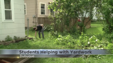 School lets students earn PE credit by doing yard work for the elderly and people with disabilities
