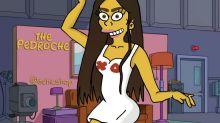 Los famosos españoles, al estilo de 'Los Simpson'