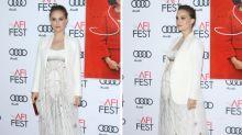 Una embarazadísima Natalie Portman deslumbra en la premiere de 'Jackie'
