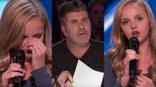 Girl brings judges to tears with song for cancer-stricken dad