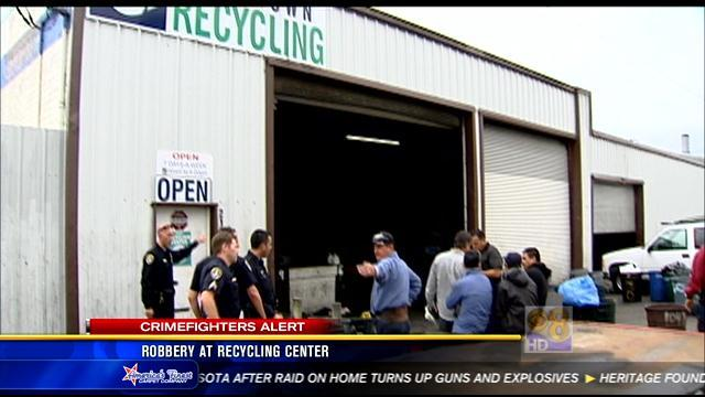 Robbery at recycling center in Mission Hills