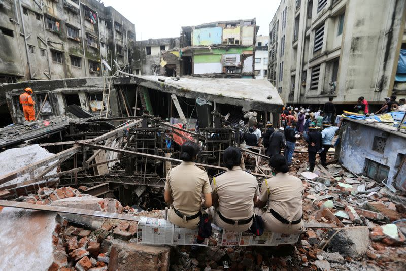 India building collapse toll climbs to 35, search and rescue efforts continue