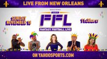 Watch a special New Orleans edition of 'Fantasy Football Live' for Week 11 lineup advice
