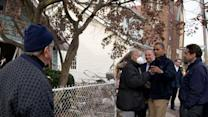 Obama sees NY damage from Sandy