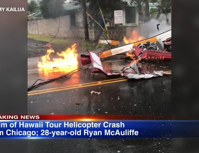 Chicago woman killed in Hawaii helicopter crash