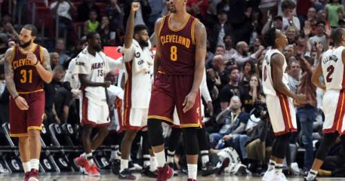 Basket - NBA - Cleveland tombe à Miami et perd la première place de la conférence Est