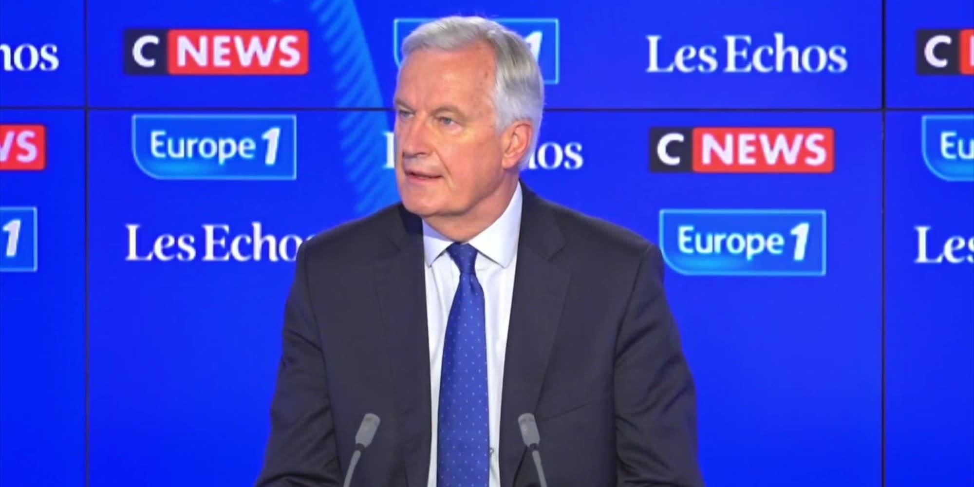 """Michel Barnier sur le congrès LR : """"Ce ne sont pas les sondages qui vont choisir notre candidat"""""""