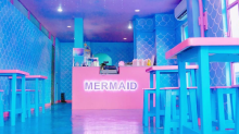 OMG this mermaid café is so magical