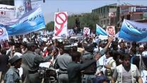 Raw: Afghans Protest Alleged Election Fraud
