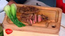 Phil Strasser's Marinated New York Sirloin Steak