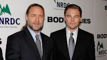 Russell Crowe once bought a dinosaur head from Leonardo DiCaprio for £27,000 when he was drunk