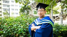 'You must give yourself a second chance': former convict turned NTU graduate