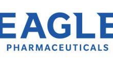 Eagle Pharmaceuticals Announces FDA Maintains Prioritization of ANDA for Vasopressin