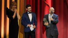 """Jesús Vidal nos hace llorar con su Goya al actor revelación: """"Queridos padres, a mí sí me gustaría tener un hijo como yo"""""""